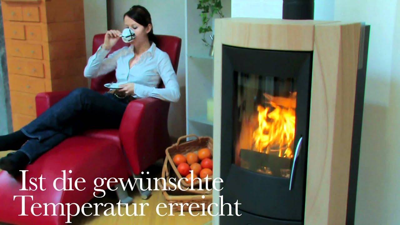 rikatronic vollautomatische luftregelung f r rika kamin fen youtube. Black Bedroom Furniture Sets. Home Design Ideas