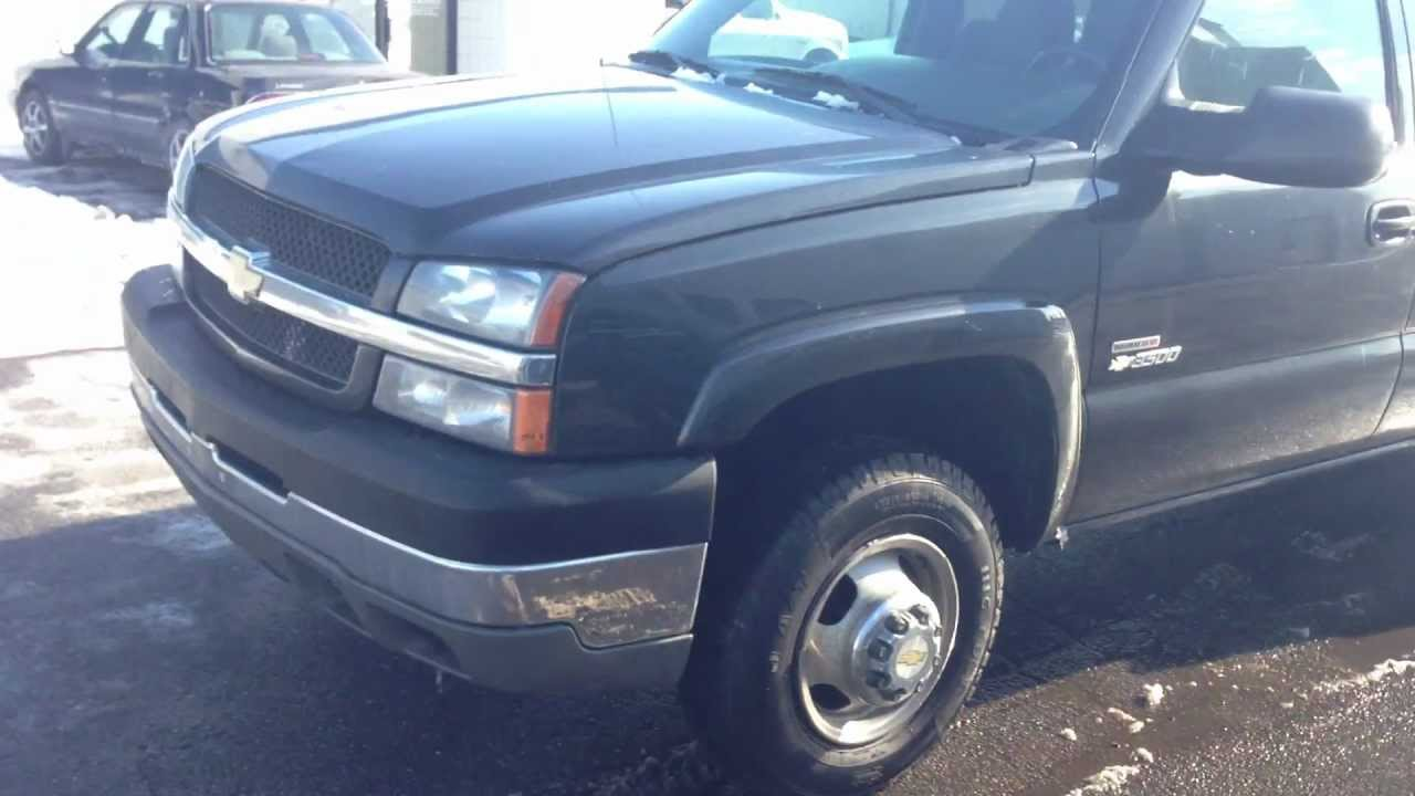 All Chevy 2005 chevy dually bed for sale : 2003 CHEVY DURAMAX 3500 DIESEL CREW CAB 4X4 FLATBED DUALLY - FOR ...