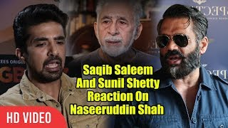 Saqib Saleem And Sunil Shetty REACTION On Naseeruddin Shah's Ajmer CONTROVERSY thumbnail