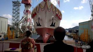Incredible Ship Launch, Cannal Locks, Beaching Ships At Sea