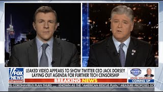 James O'Keefe LIVE on Hannity to discuss Project Veritas #ExposeTwitter BOMBSHELL! 01-14-21