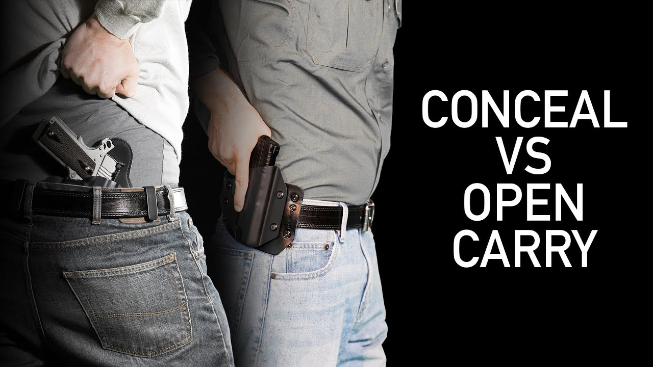 carrying a concealed handgun If i have a permit to carry a pistol do i have to conceal the pistol no minnesota's personal protection act is a permit to carry law, not a conceal and carry law the pistol does not need to be concealed, but can be concealed.