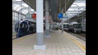 JR西日本・南海電鉄の共用駅 りんくうタウン駅にて
