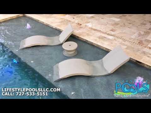 New Custom Pool Install | Lifestyle Pools LLC | Custom Pool Builders
