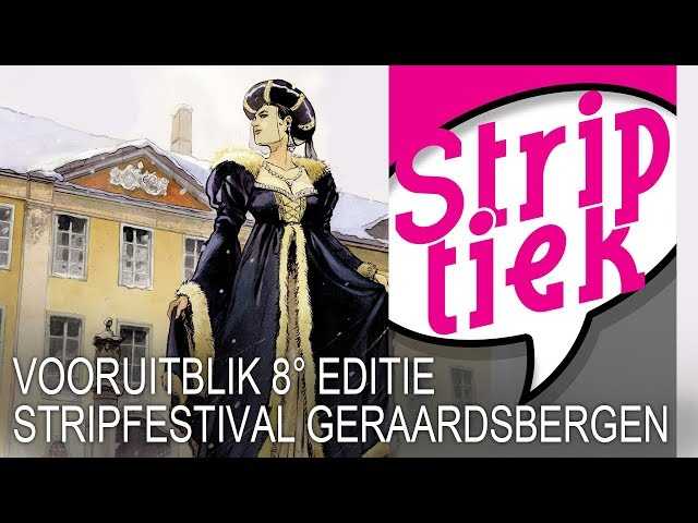 Vooruitblik op de 8ste editie van het Stripfestival van Geraardsbergen (2019)