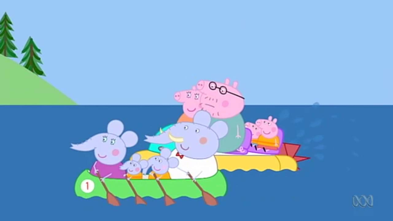 Peppa Pig - Going Boating (43 episode / 4 season) [HD]