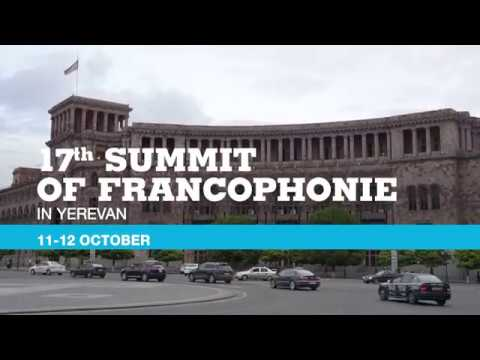 17th Summit Of Francophonie In Yerevan