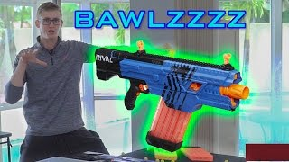 SHOOTING 430 NERF DARTS AS FAST AS POSSIBLE #7   RIVAL KHAOS!