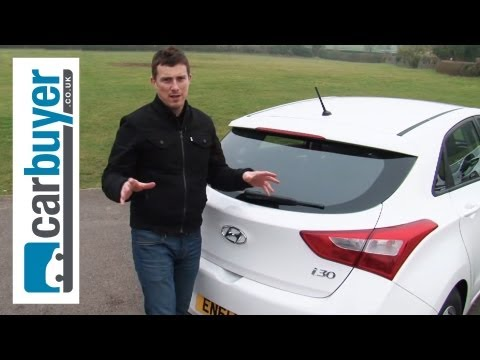 Hyundai i30 hatchback 2013 review Carbuyer