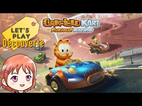 Garfield Kart Furious Racing Let S Play Decouverte Switch Youtube