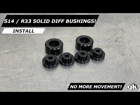 R200 2 BOLT S14/S15/R33/R34 Solid diff bushings