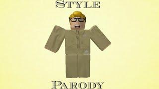 Style Taylor Swift Parody- Roblox Music Video