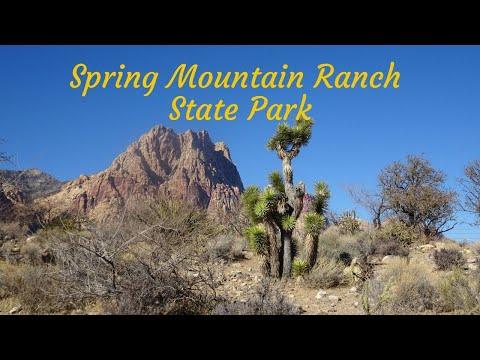 Park Tour - Spring Mountain Ranch State Park, Nevada