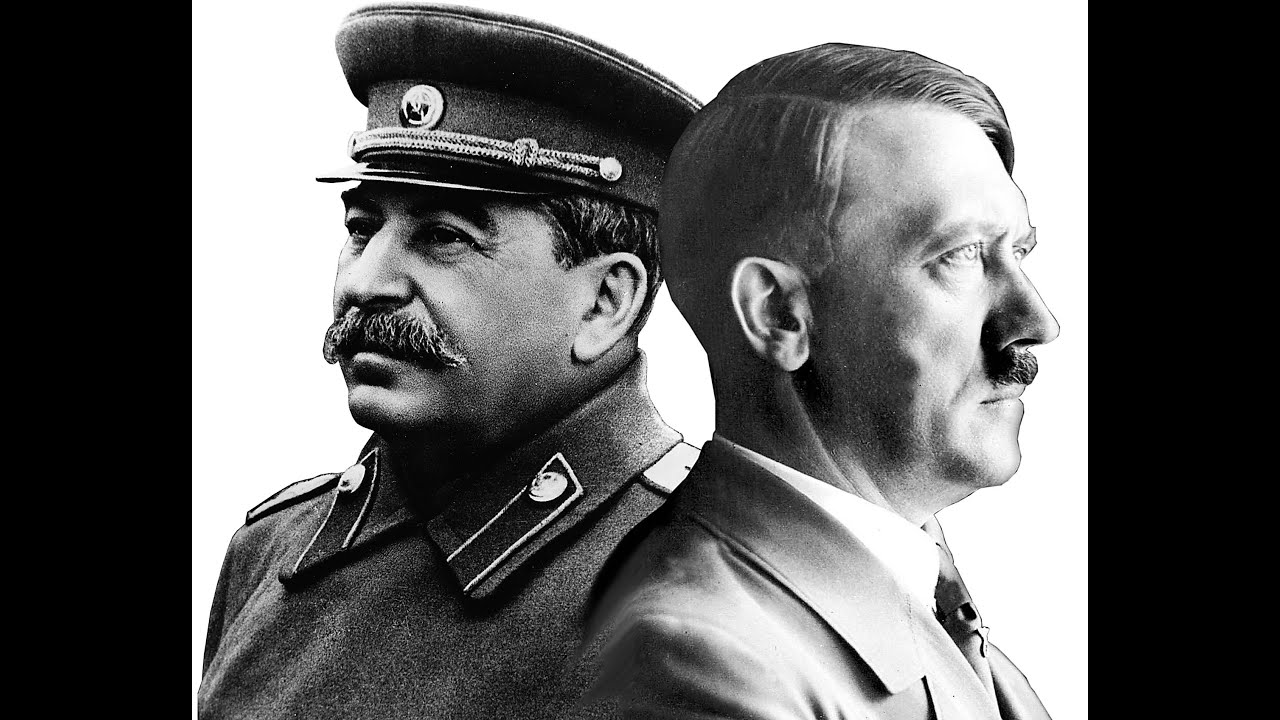 the two men that were on opposing sides before the world war two adolf hitler and joseph stalin Start studying us history- world war 2: part 2  franklin roosevelt and joseph stalin meet at yalta to  macarthur's men were forced to retreat to the.
