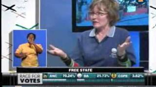 Election debate between Hellen zille and Gwede, 18 May 2011, 12h00