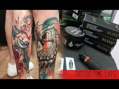 Abstract colors - Tattoo time lapse