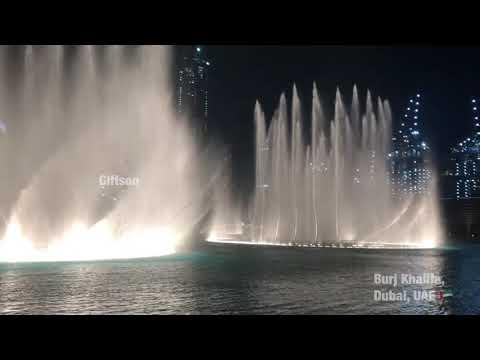 Dubai Fountain – Giftson