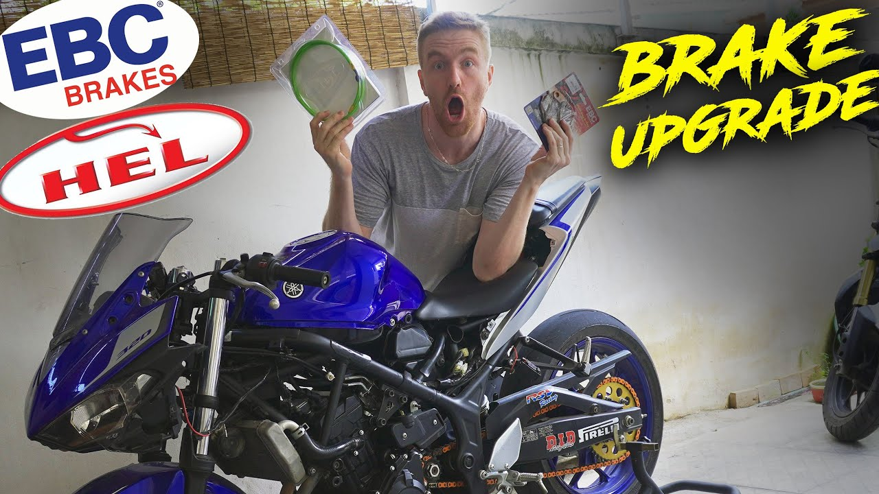 Upgrading the R3 with RACE SPEC Brakes  | R3 Build Ep.6