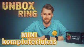 Mini kompiuteriukas   Raspberry Pi 3   Unbox Ring    Laisvės TV X