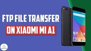 Xiaomi Mi A1 to PC Wireless File Transfer Using Explorer App | हिंदी
