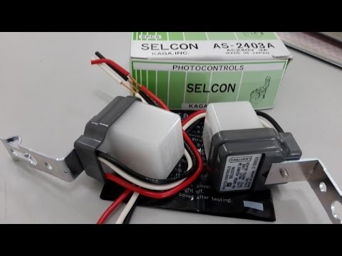 hqdefault how to operate photo controls photocell selcon, as 2203a ac220v 3a selcon photocell wiring diagram at nearapp.co