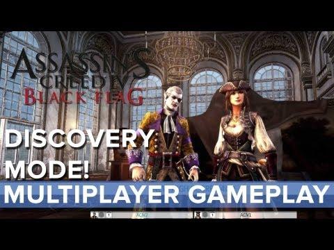Assassins Creed 4: Black Flag - Discovery Mode Multiplayer Gameplay - Eurogamer