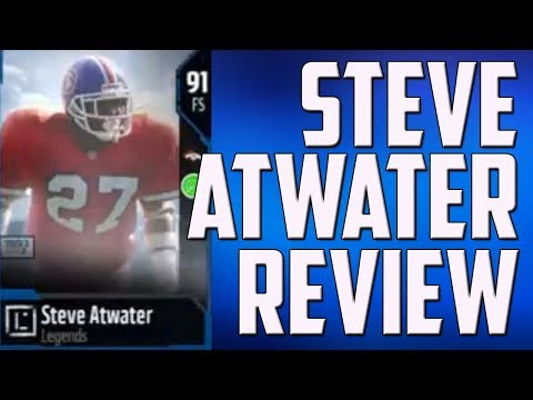 HOW GOOD IS STEVE ATWATER? MUT 18 PLAYER REVIEW