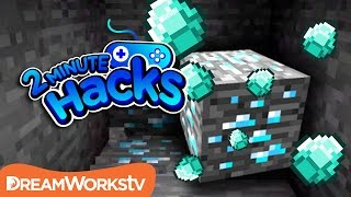 How to Find Diamonds in Minecraft | 2 MINUTE HACKS