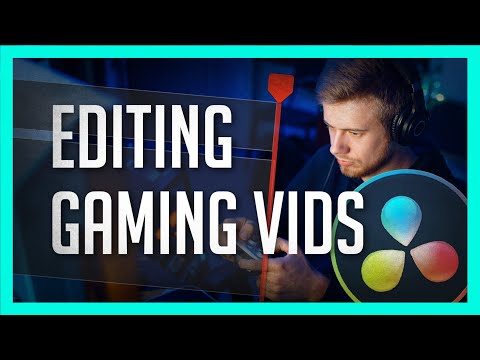How To Edit Gaming Videos In Resolve - DaVinci Resolve Let's Play Editing Tutorial