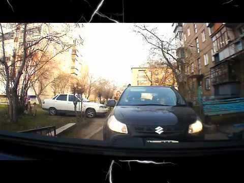 Блондинка за рулем ( Прикол ) - 19 Февраля 2013 - Смешное