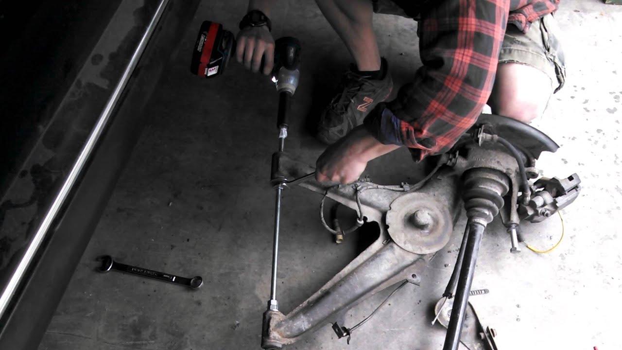 A Arm Bushing Removal