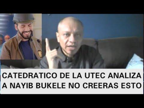 ANTROPOLOGO DE LA UTEC ANALIZA EFECTO DE NAYIB BUKELE NUEVAS IDEAS COMO ARRASARA EN LAS ELECCIONES