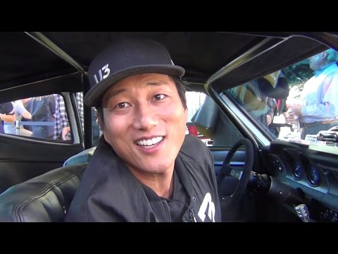 Sung Kang Maverick Underdog Car  U3 at SEMA 2016