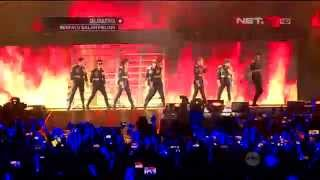 Kemeriahan Super Show 6: Super Junior World Tour in Jakarta