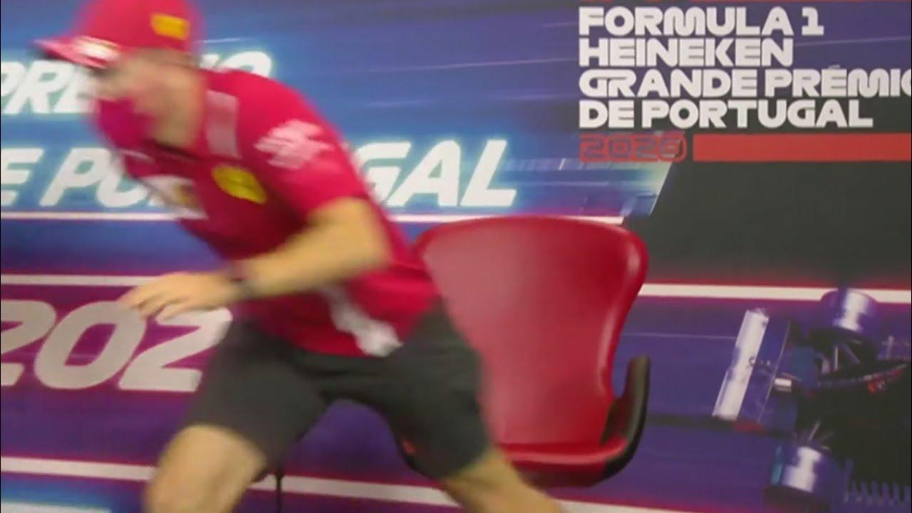Vettel makes a swift exit