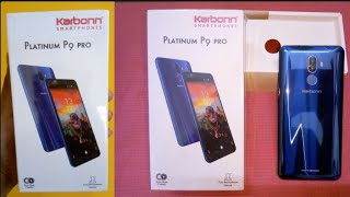 Karbonn platinum p9 pro unboxing Karbonn mobile review