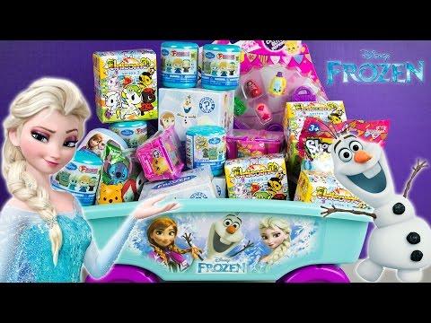 Frozen Surprise Wagon Fashems Unicorno Shopkins Funko Mystery Minis Disney Toys