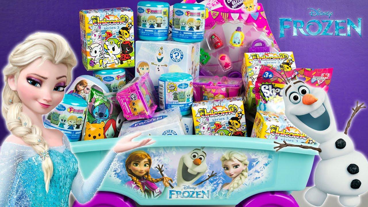 Frozen Surprise Wagon Fashems Unicorno Shopkins Funko