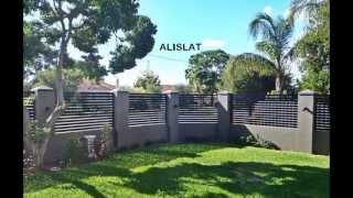 Alislat Aluminium Slat Fencing Perth W.a