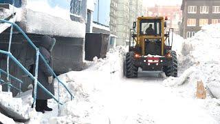 Аномальный снегопад! Сугробы 1,5 метра в Красноярском крае
