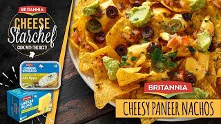 Quick Cheesy Paneer Nachos | Paneer Nachos | Paneer Appetizers | Indian Style Nachos | Saif Ali Khan