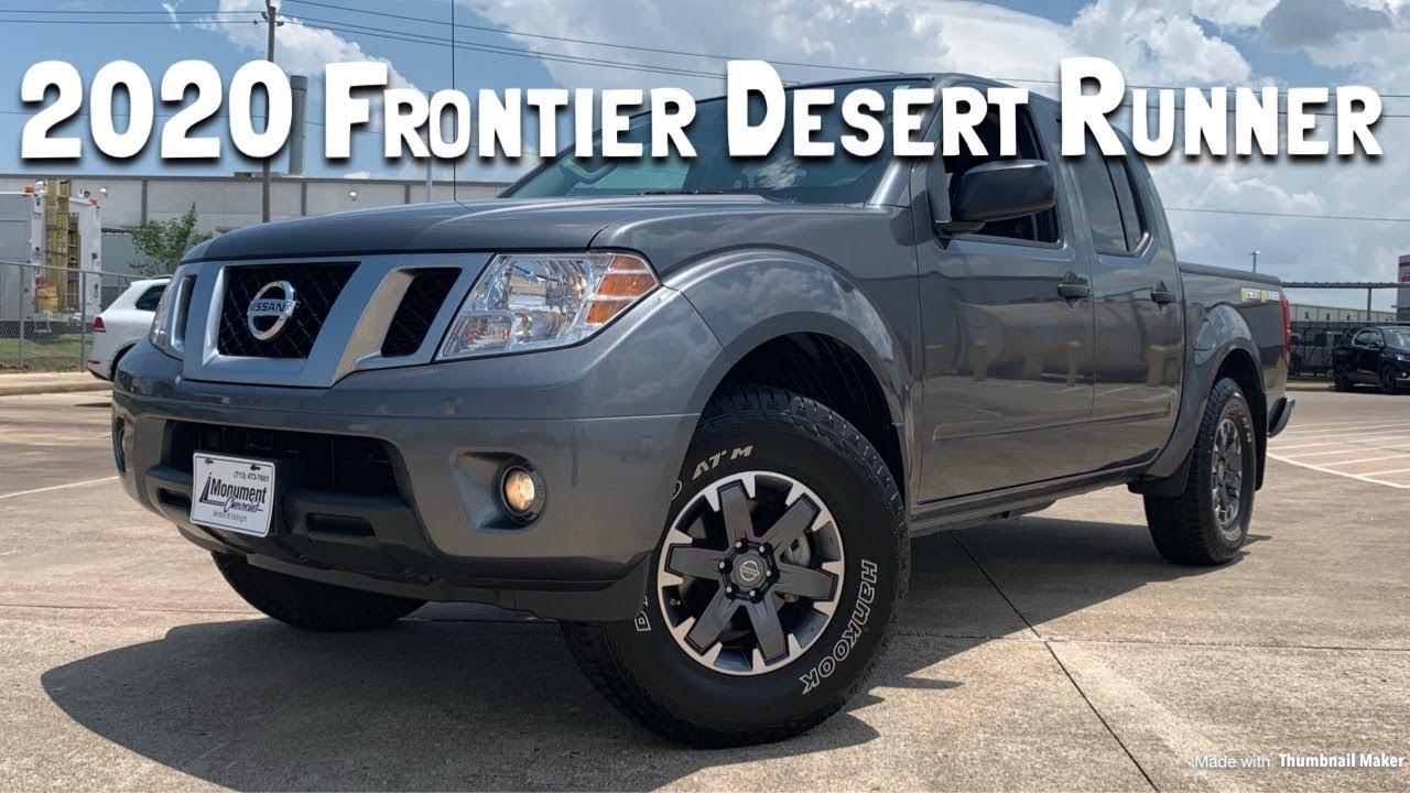 2020 Nissan Frontier Desert Runner 4 0l V6 Review