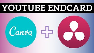Making A Simple YouTube End Card -  YouTube Tutorial