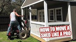 How To Move a Shed Like a Pro
