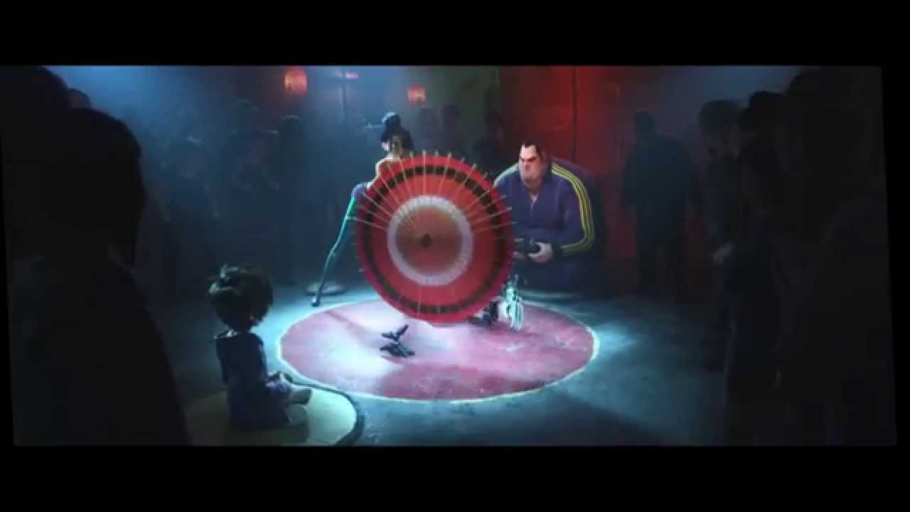Big Hero 6 - Robot Fight HD - YouTube