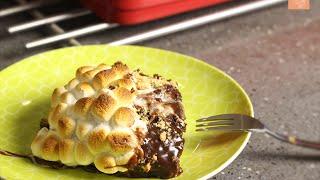 حلى سريع : سمورز براونيز | S'more Brownies