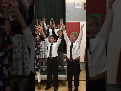 Chris Farley reincarnated at Bedminster Elementary school Christmas concert
