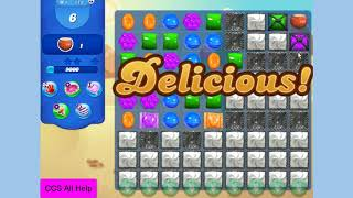 Candy Crush Saga Level 113 16 moves NO BOOSTERS
