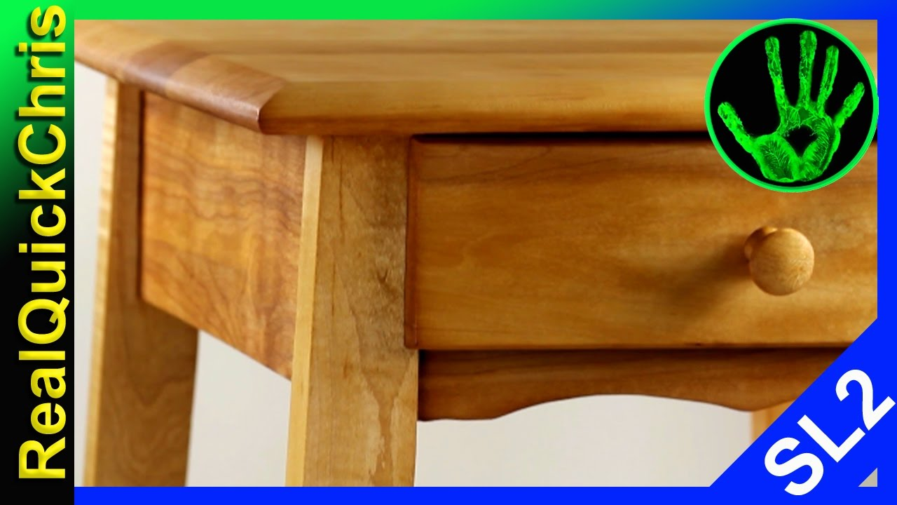 Amazing Furniture Restoration And Repair American Maple End Table