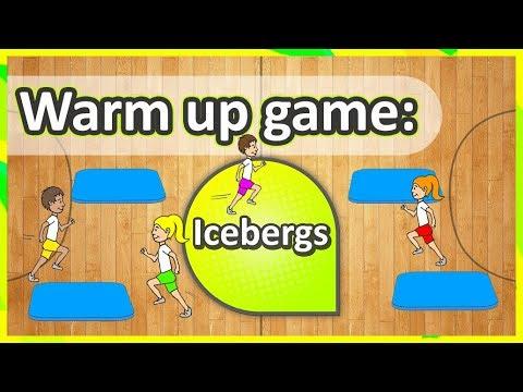 Warm Up Game: 'Icebergs' (K-6)   Teaching Fundamentals Of PE